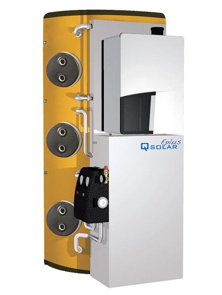 QSolar EPlus, generatore termosolare