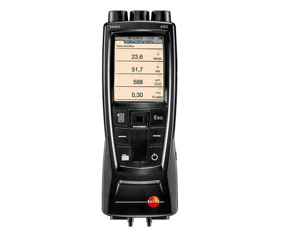 Testo 480, misuratore della climatizzazione degli ambienti