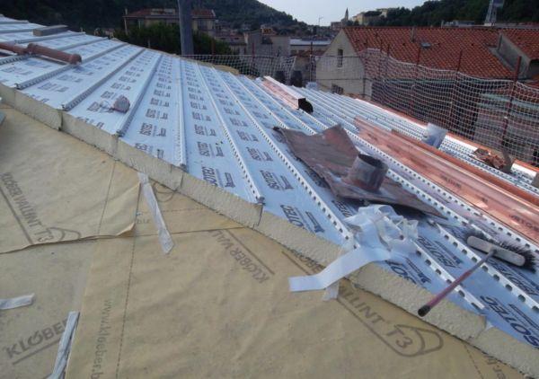 Riqualificazione energetica e isolamento termico della copertura
