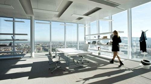 Uffici interni al grattacielo