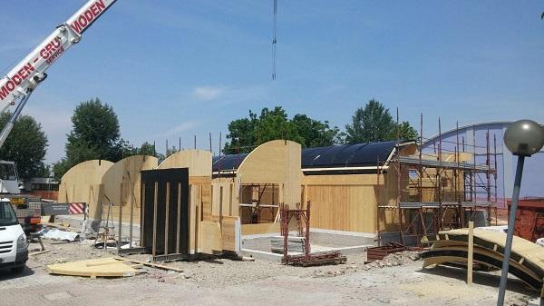 Nuovo centro per disabili in costruzione