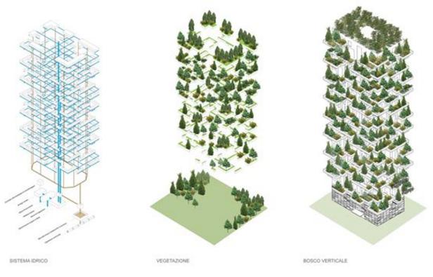 Progetto sostenibile di riforestazione