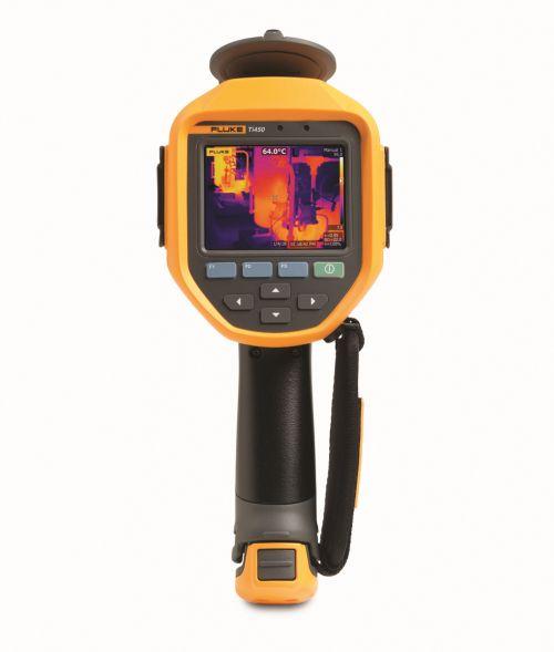 Termocamera Fluke Ti450 con messa a fuoco MultiSharp™ 1