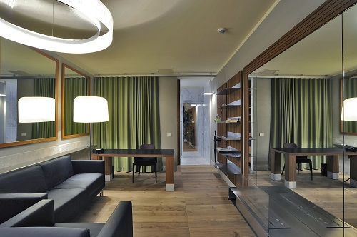 interni e dettagli del resort