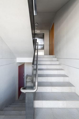 Vano scale dell'edificio