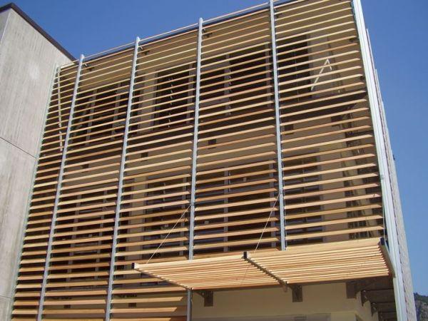 schermature solari e brise soleil il corretto benessere. Black Bedroom Furniture Sets. Home Design Ideas