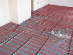Impianti radianti a pavimento, soffitto o parete