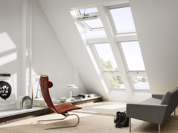 Nuova generazione di finestre per tetti velux for Finestre velux per accesso al tetto