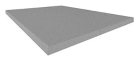 ... , lastra in cemento alleggerito rinforzato con rete in fibra di vetro