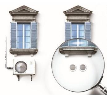 Climatizzatore senza unit esterna ad incasso - Condizionatori inverter senza unita esterna ...