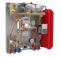 IVAR SAT DUAL modulo a portata variabile IVAR per la preparazione istantanea di ACS, e il controllo del riscaldamento