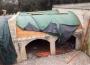 Impermeabilizzazione della copertura di un'antica villa a Maglie