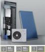 Sistema ibrido Beretta per Riscaldamento, raffrescamento e acqua calda