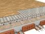 Sistema Radial ALU G Sistema radiante a secco che scalda la casa in soli 4 CM