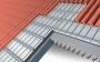 Pannello ventilato termoisolante sottotegola Alutec G per il miglior isolamento
