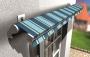 Le soluzioni Berner per il fissaggio di tende e pergolati in facciata