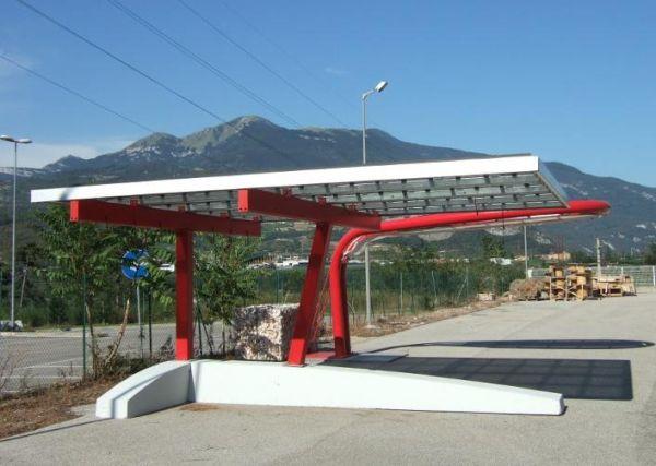 Pensiline Parcheggi Fotovoltaiche