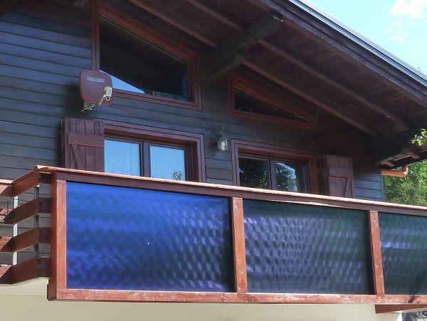 Pannello Solare Termico Integrato : Fotovoltaico su ringhiera terminali antivento per stufe