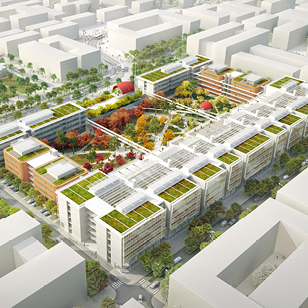 renzo piano firma il nuovo campus di parigi. Black Bedroom Furniture Sets. Home Design Ideas