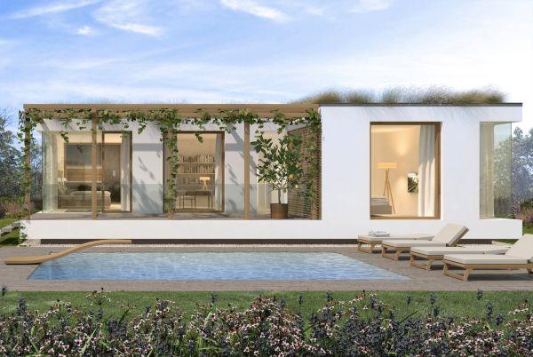 Progettazione Casa In Legno : Glam una casa in legno hi tech e sostenibile