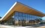 Inaugurata la nuova mensa di Amatrice, tutta in legno e vetro