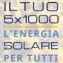 Il tuo 5x1000 alle rinnovabili e al fotovoltaico!