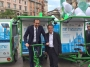 T-Riciclo, un veicolo fotovoltaico per la pulizia di Milano