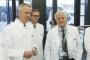 Il ministro dell'Ambiente Galletti visita il quartier generale BASF a Ludwigshafen, in Germania