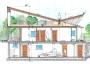 Casa passiva grazie all'integrazione edificio-impianto