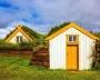 Case ecologiche islandesi con tetto verde
