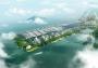 Nuovo campus tecnologico di Tencent a Shenzhen, che sembra una catena montuosa