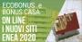 Operativo il portale Enea per invio pratiche detrazioni per efficienza energetica e bonus casa 2020