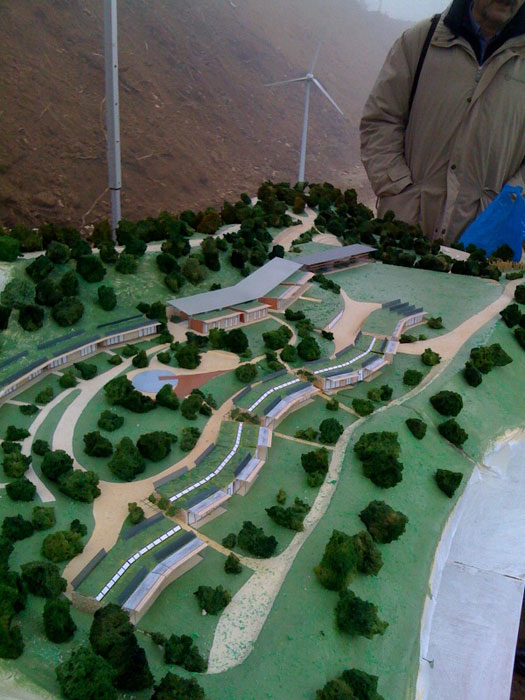 Il parco eolico pi esteso della liguria for Cabine del parco del windrock