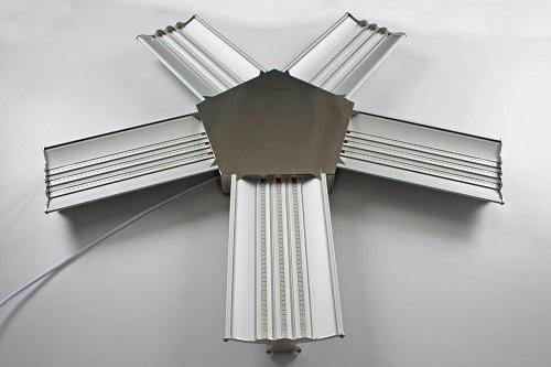 Plafoniera Fiore 5 petali da 30 cm 15x6W 7.875 Lumen