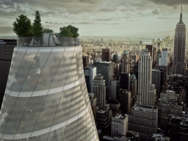 Grattacielo Camping in the sky