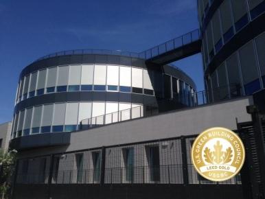 Edificio CINECA ala polifunzionale è LEED® Gold