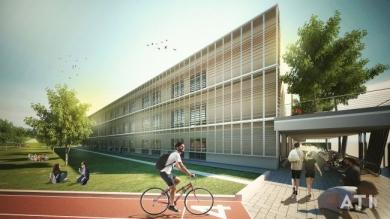 Biodilizia e legno per la scuola di via Strozzi a Milano