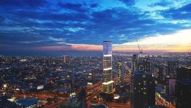 Sol Invictus Tower a Melbourne, Il grattacielo avvolto dai pannelli solari