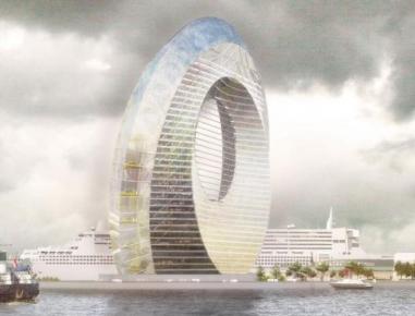 Windwheel, skyline spettacolare alimentato dalle rinnovabili