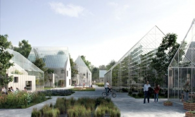 ReGen Village, Eco-villaggio ad Amsterdam