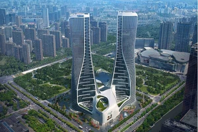 Raffles City, l'hub urbano sostenibile