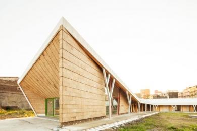 Wanderland, un'architettura accogliente e sostenibile per i bambini affetti da malattie gravi