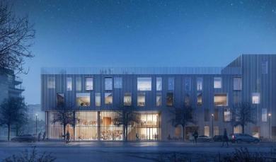 Una scuola green: la New Island Brygge School