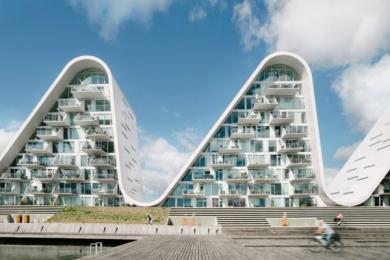 The Wave, Il condominio a forma di onda che omaggia il paesaggio danese