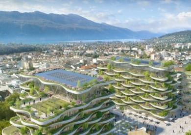 Nuova vita, sostenibile, ai bagni termali di Aix-les-Bains