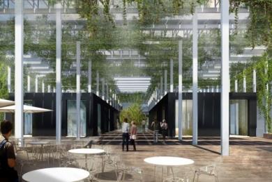 A Brescia un edificio sostenibile, iconico, naturale, flessibile