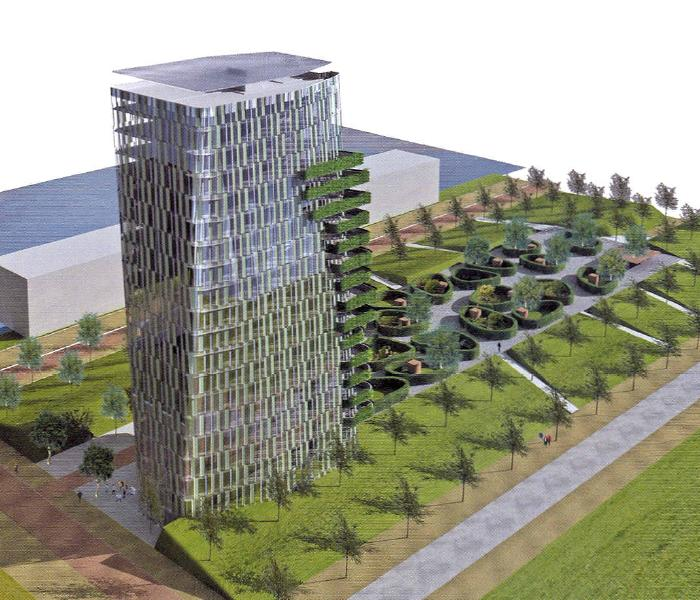 Casa cascada for Progettazione di piani abitativi residenziali