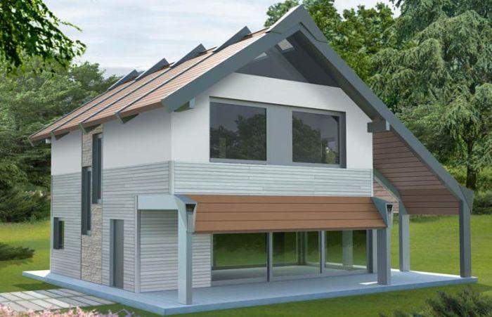 Edificio unifamiliare di design - Ricircolo aria casa ...