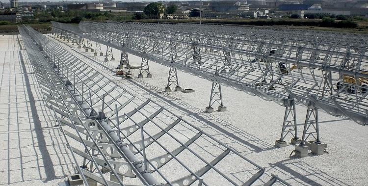 Concentratore solare per Progetto Archimede