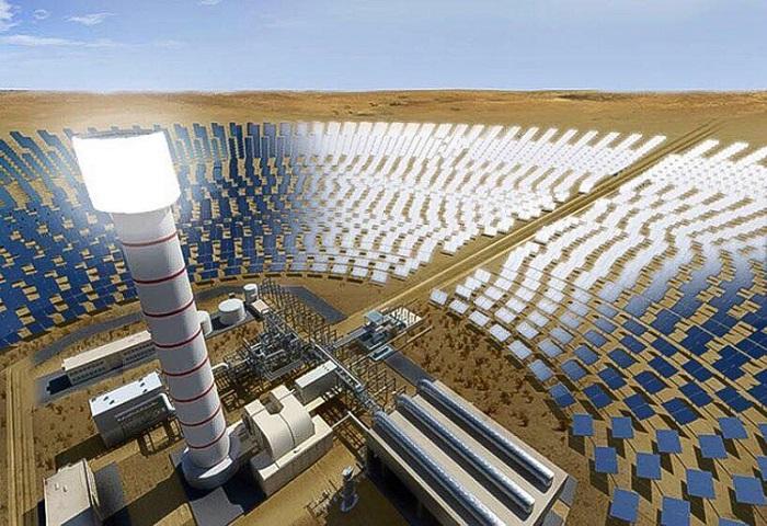 Impianto solare a concentrazione Dubai